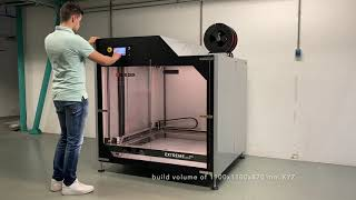 Builder Extreme 3000 PRO - Large Scale 3D Printing