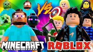 MINECRAFT VS ROBLOX (MOD) LEGO Marvel's Avengers (LEGO Marvel Avengers) Hero fight #171
