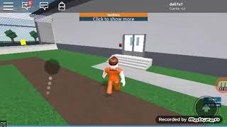How to escape the prison in ROBLOX!!!!!