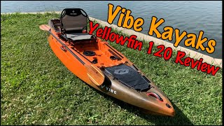 Vibe Yellowfin 120: On Water Review