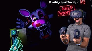 VENT REPAIR IS TERRIFYING!! | Five Nights At Freddy's VR: Help Wanted [FNAF VR]
