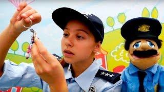 Работа для Полен - Профессия Полицейский - Игры для девочек