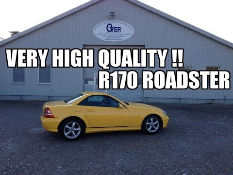 Very High quality  Mercedes SLK 320 2000 Review & TestDrive JMSpeedshop !