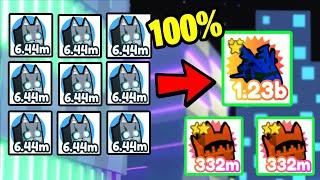 😱 *NEW* BEST FUŠING METHOD! FASTEST WAY TO GET RAINBOW TECHNO CAT! | Pet Simulator X