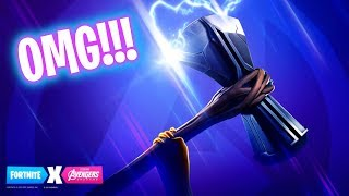EL HACHA DE THOR EN FORTNITE! Fortnite Battle Royale - Luzu