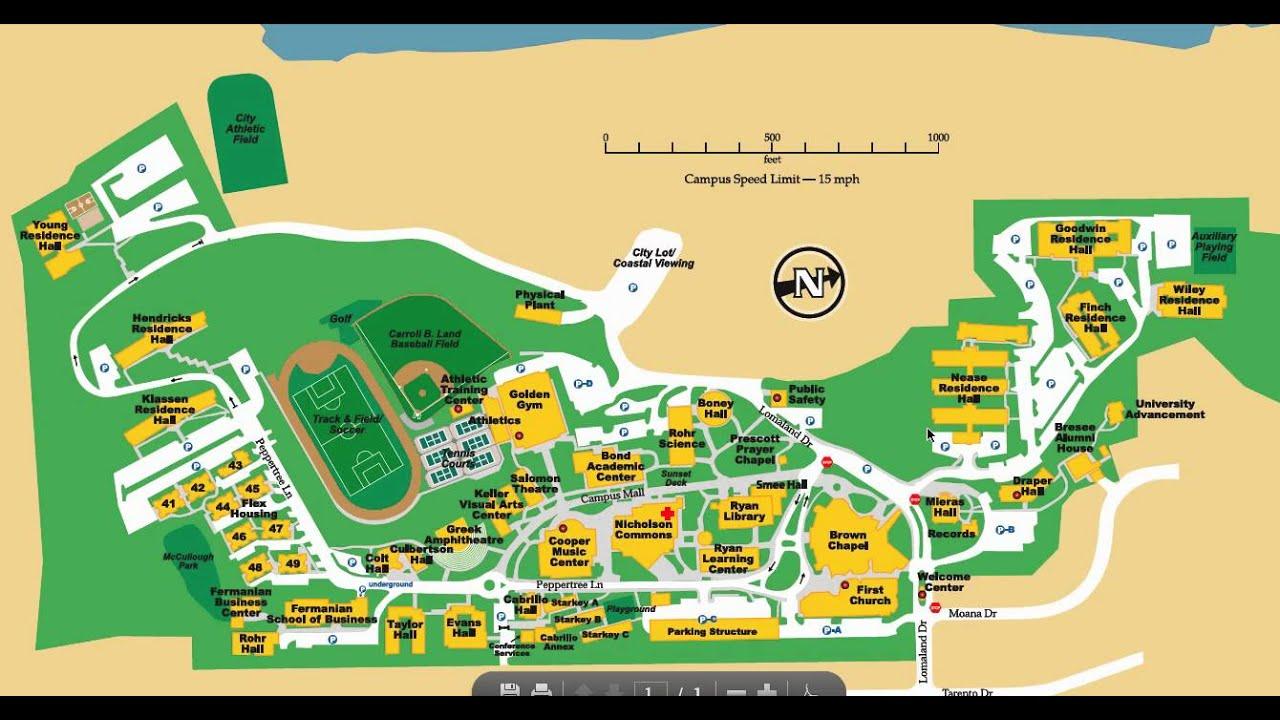 Cabrillo College Campus Map 2016 Creativehobby Store