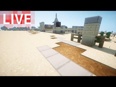 Minecraft Live カボチャ収穫機と砂漠の道! - YouTube
