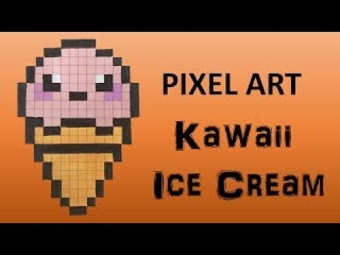 Pixel Art Glace Dessin