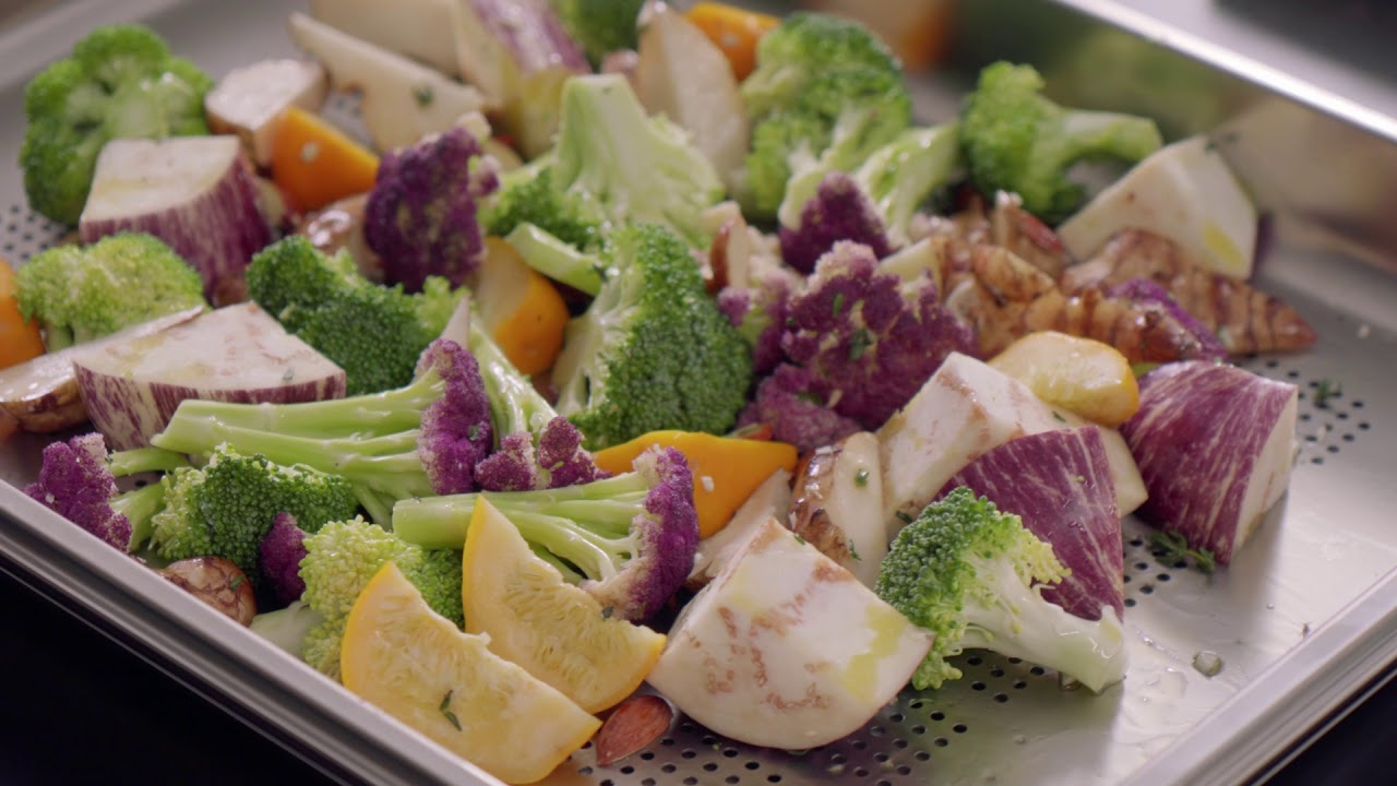 Download ASKO steam-powered cooking - Steamed vegetable medley