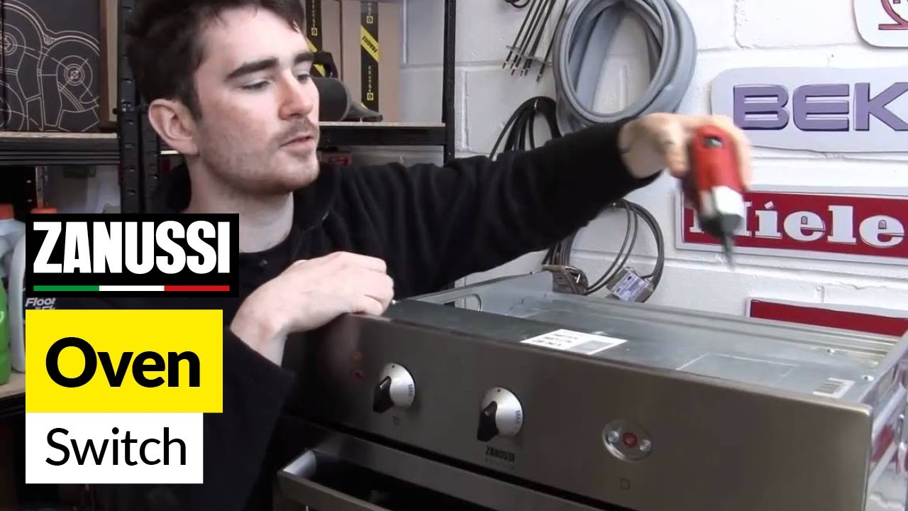 How To Replace An Oven Switch On A Zanussi Cooker