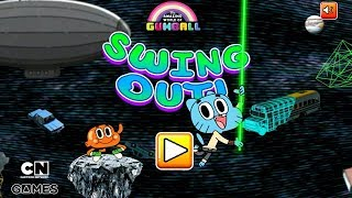 The Amazing World of Gumball - SWING OUT [Cartoon Network Games]