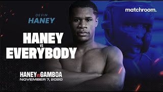 """I'm scared for anybody at 135!"" Devin Haney prepares for Yuriorkis Gamboa clash on Novemeber 7"