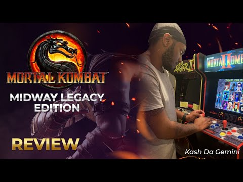 Midway Legacy Edition Arcade 1UP Review from KashDaGemini