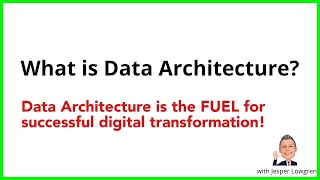 Data Architecture Explained in under 4 minutes.