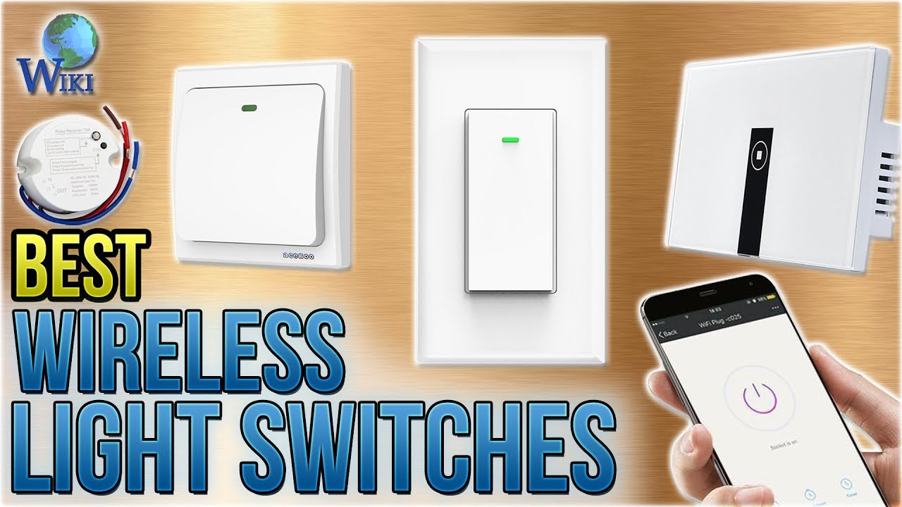 10 Best Wireless Light Switches 2018 Youtube Cordless Ceiling Wall With Remote Control Switch Battery