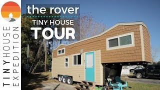 "The Rover Tiny House Tour: ""maximist"" Andy's Home In Charleston"