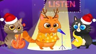 Мультик про Котика Bubbu #2019 НОВЫЙ ГОД Бубу! Мультфильмы для детей виртуальный питомец