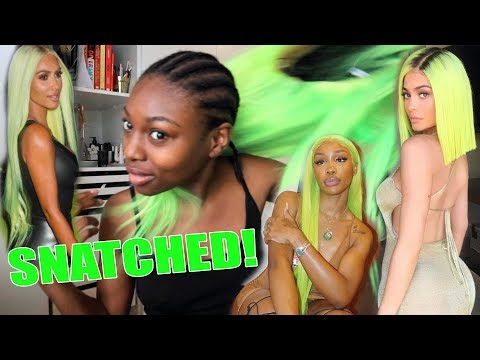 I TRIED TO GET KIM KARDASHIAN'S HIGHLIGHT HAIR..WIG SNATCHED! Patricia takes it on!
