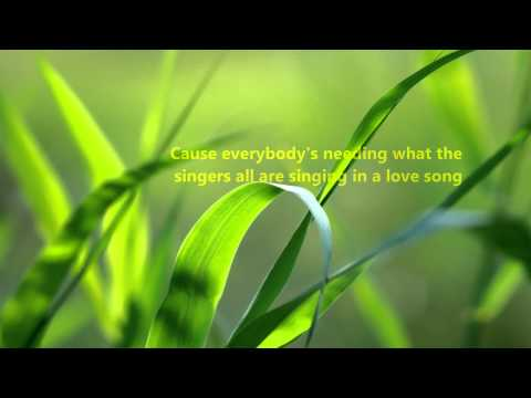 Kenny Rogers - A Love Song w/ Lyrics