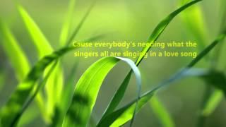 Kenny Rogers - A Love Song w/ Lyrics