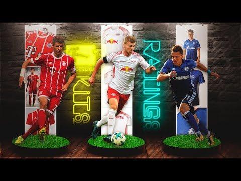FIFA 18 Bundesliga Kits & Ratings