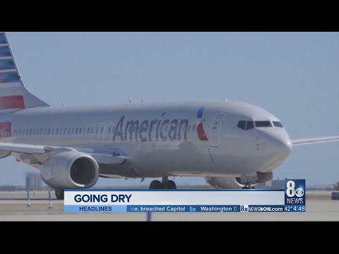 American Airlines stops serving alcohol on DC flights