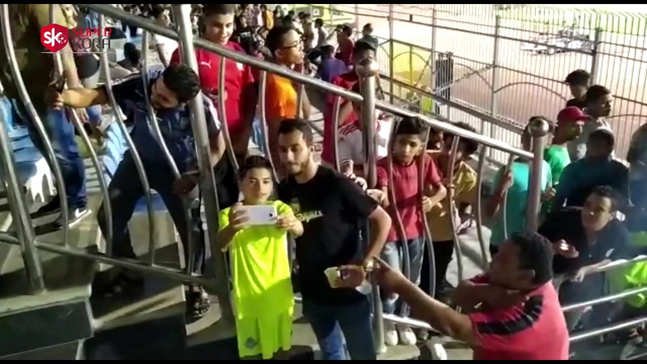 اليوم السابع :سيلفي أحمد أيمن منصور في مباراة بيراميدز ضد بلوزداد