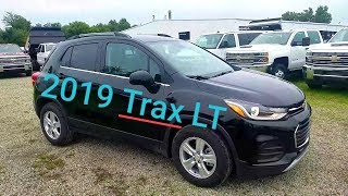 2019 Chevy TRAX LT - FWD - Mosaic Black Metallic - FULL WALK AROUND REVIEW