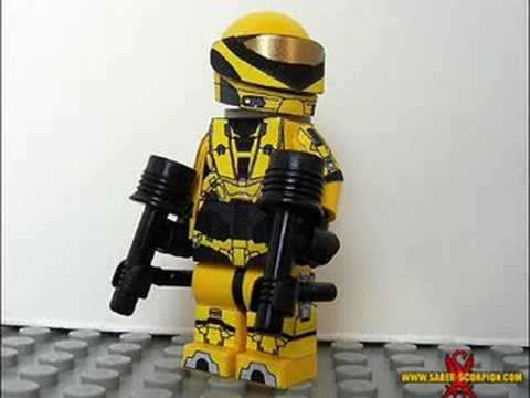 Lego halo spartans youtube - Lego spartan halo ...