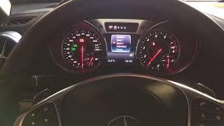2017 Mercedes Benz R231 SL550 facelift start up & blipping sound.
