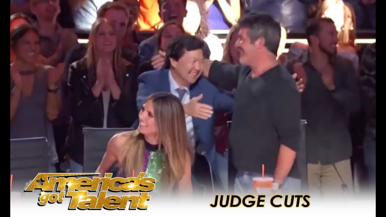 Simon Cowell Welcomes Comedian Ken Jeong As Guest Judge | America's Got Talent 2018