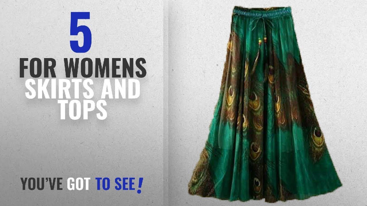 76badaebb Top 10 For Womens Skirts And Tops [2018]: Dheylu Creation Women's Riyon  Fabric Digital Printed