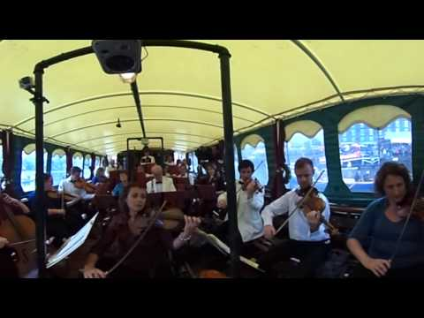 360º Video: Handel's Water Music Performed On A Boat For Bristol Harbour Festival 2017