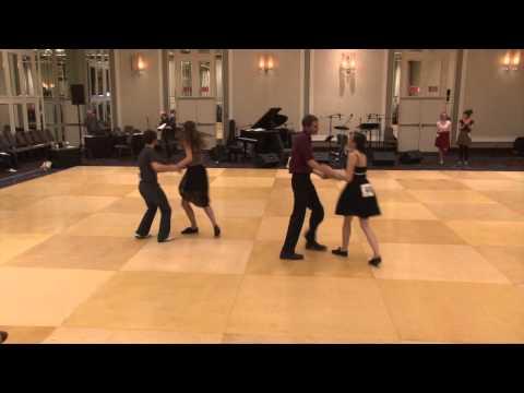 Montreal Dance Fest 2013 - Lindy Hop Beginner Jack & Jill