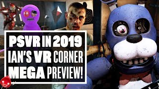 First impressions of the biggest PSVR games of 2019! - Ian's VR Corner