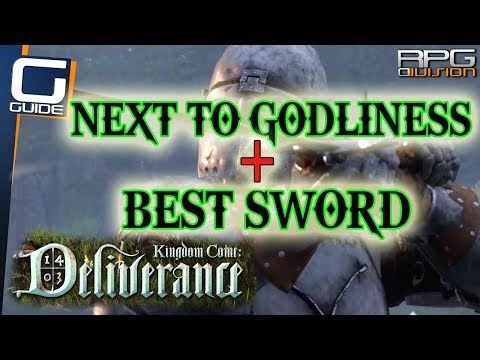 KINGDOM COME DELIVERANCE - Best Early Game Sword Location & Next to Godliness Quest Guide