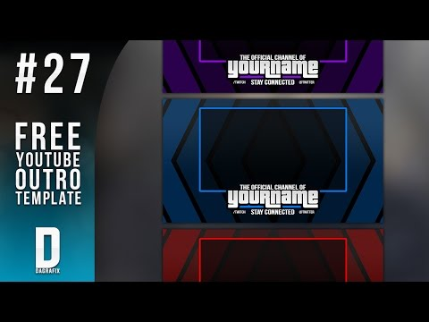 Full download download youtube outro template for Youtube outro template download