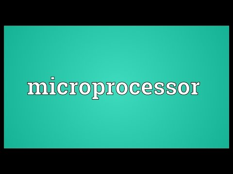 Microprocessor Meaning