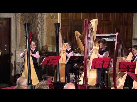 Ensemble d'arpe I Piccoli Musici - Concerto di Natale 2013