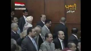 Yemen's Hadi takes oath