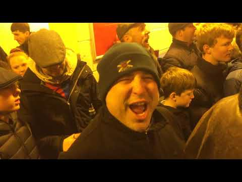 Slider - Captain Sensible (from The Damned) and friends at CPFC Holmesdale Fanatics