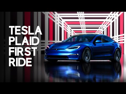 TESLA MODEL S PLAID FIRST LAUNCH!