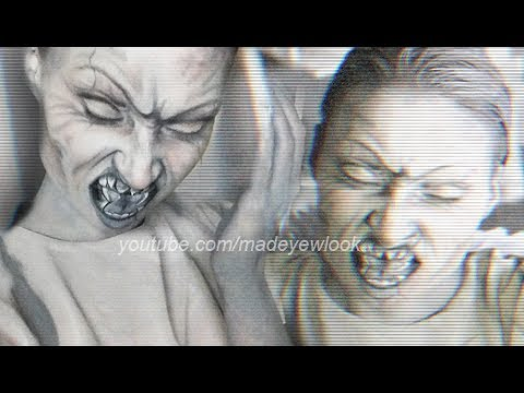 request weeping angel makeup tutorial madeyewlook youtube