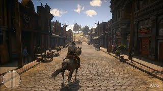 Red Dead Redemption 2 - Blackwater - Open World Free Roam Gameplay (PS4 HD) [1080p60FPS]