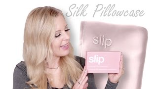 Slip Silk Pillowcase Review | Top Over 40 Tip For Anti-Aging, Smooth Hair & Skin