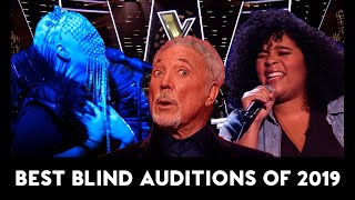 The Voice TOP-10 AMAZING & BEST Blind Auditions of 2019 In t...
