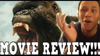 KONG: SKULL ISLAND MOVIE REVIEW!!!! (SPOILERS)