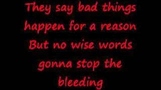 The Script - Breakeven (Lyrics on screen)