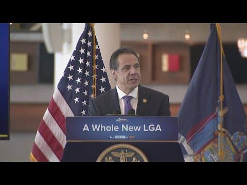 Full Video: Gov. Cuomo Unveils Next Phase Of LGA Plan