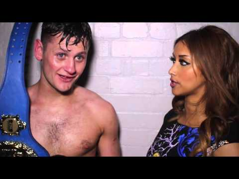 EBA Boxing 29th April 2016 - Jack Osbourne - Post Fight Interview
